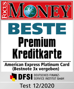 Focus Money: Beste Premium Kreditkarte